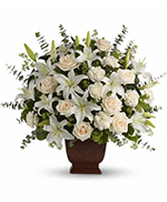 Teleflora's Loving Lilies and Roses Bouquet